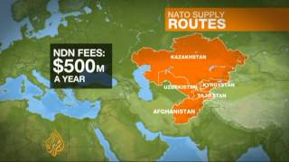 Kazakhstan seeks greater role as NATO supply route