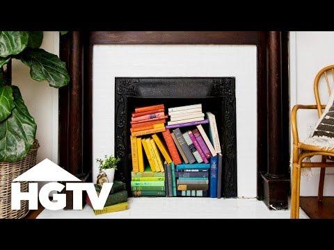3 Living Room Upgrades Under $50 - HGTV - YouTube
