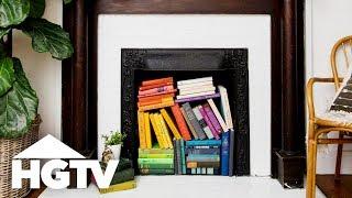 3 Creative Ways t๐ Style an Unused Fireplace | HGTV Happy | HGTV