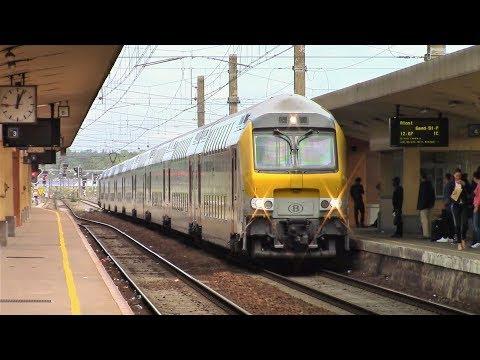 Passenger and Freight Trains in Brussels, Antwerp & Liège, Belgium