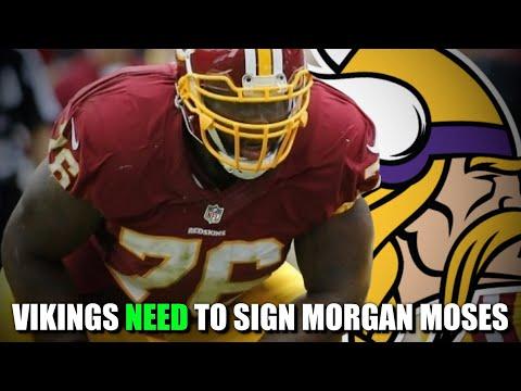 Minnesota Vikings NEED to Sign Morgan Moses
