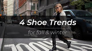 4 Fall Shoe Trends for EVERYON…