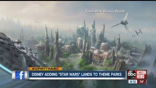 Star Wars Theme Park Announcement