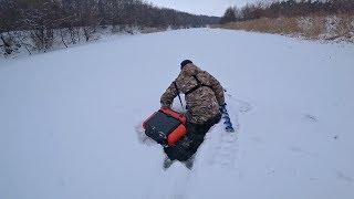 Провалился под лед! Ну вот и доловился на зимней рыбалке! Зимняя рыбалка 2019.