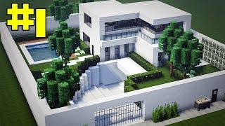 minecraft casa moderna tutorial