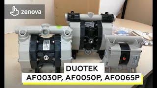 Обзор мембранных насосов Seko AF0030P, AF0050P, AF0065P