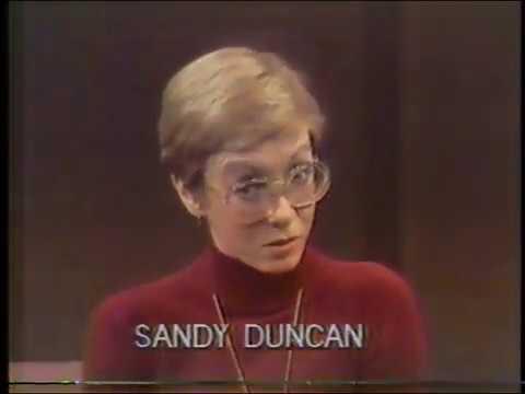 Sandy Duncan / Dick Cavett interview, December 1979