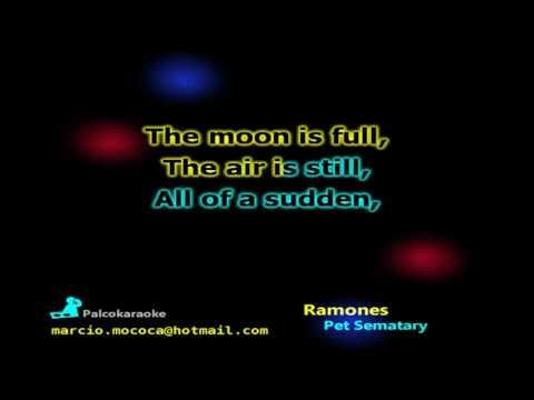 Ramones - Pet Sematary - Karaoke