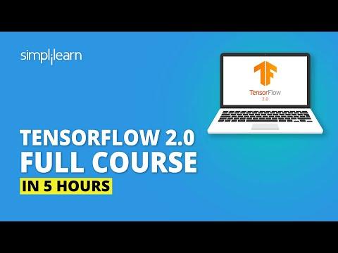 TensorFlow 2.0 Full Course In 5 Hours | TensorFlow Tutorial For Beginners | TensorFlow | Simplilearn