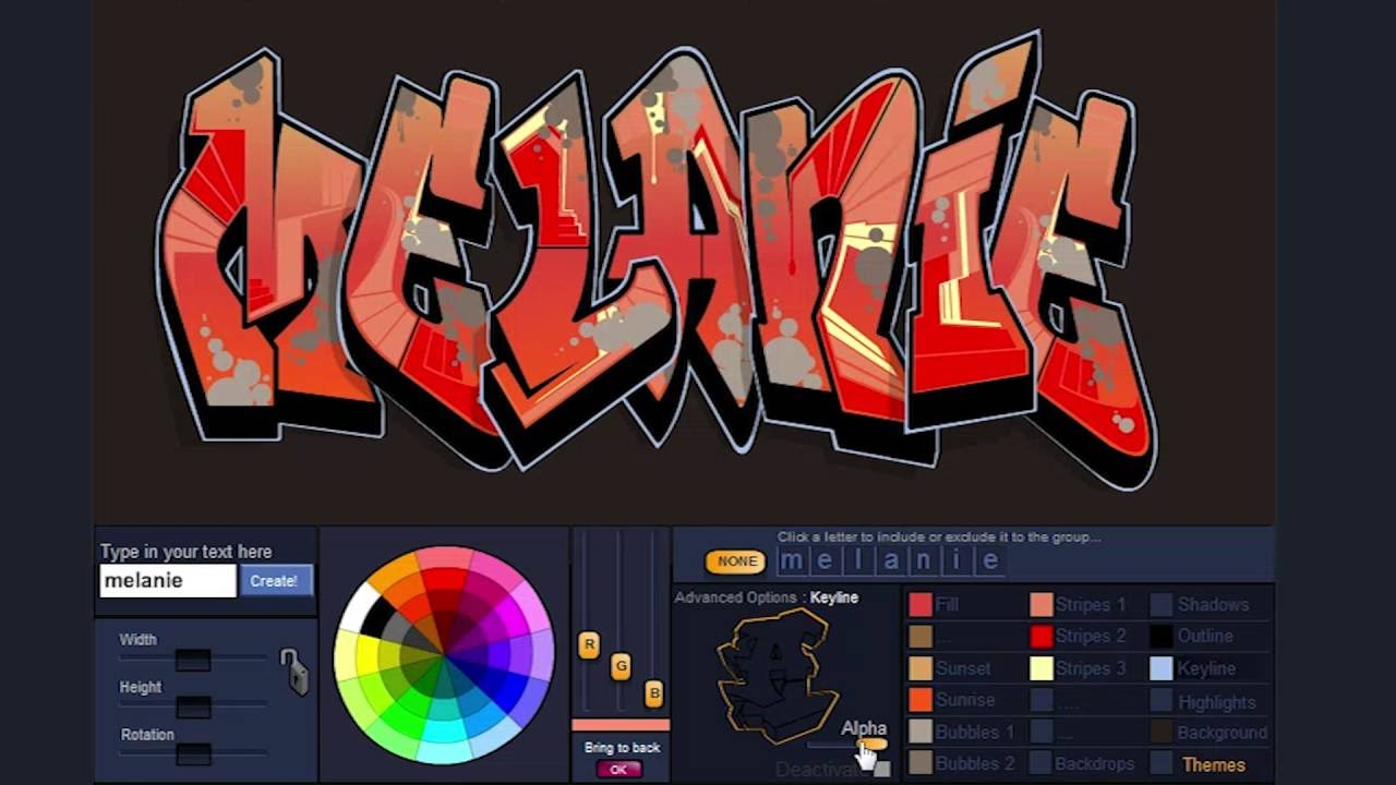 How to save your graffiti design on graffiticreator net