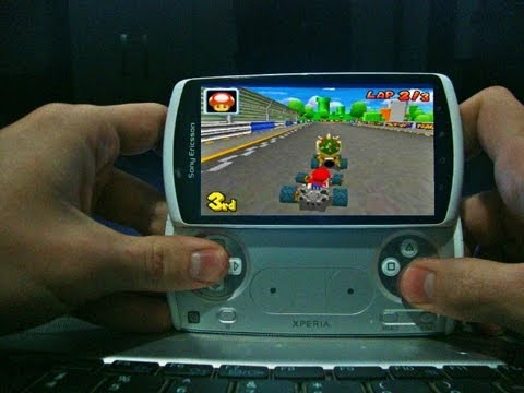 Xperia Play Nintendo DS Emulator Full FPS