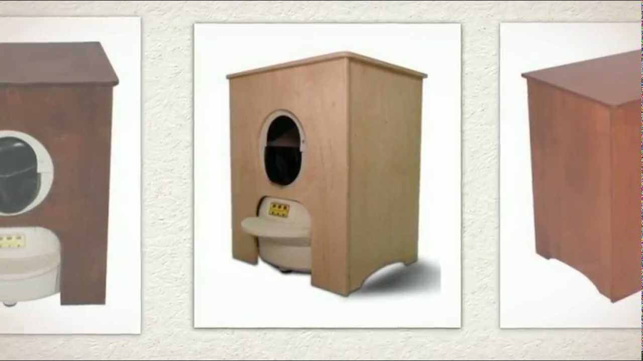 The Litter Robot II Space Saving Cabinet