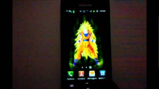 DBZ Goku Live Wallpaper for Android