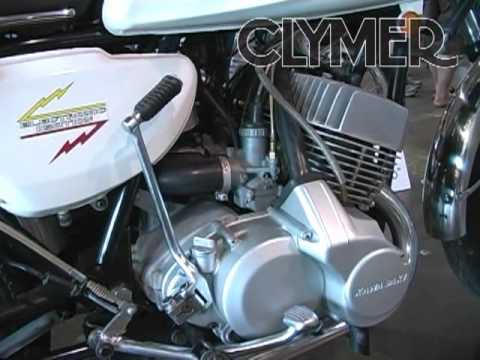 clymer manuals 1969 kawasaki h1 mach iii vintage classic retro rh youtube com