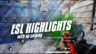 MY BEST ESL Matches & SCRIMS Highlights||PUBG Mobile