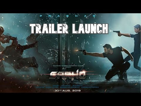 Saaho Trailer Launch Video