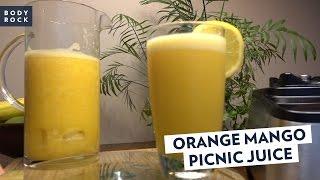 BodyRock Mango Orange Picnic Juice