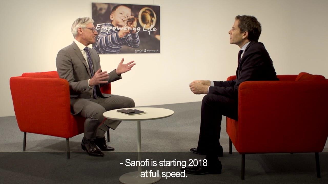 Sanofi – Annual Results 2017 - Video Interview with Olivier Brandicourt, CEO