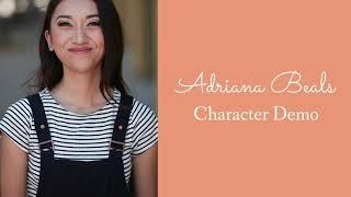 Adriana Beals Character Demo