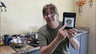Canning POTATOES for 1 |  Outdoor Canning Kitchen | Food for the Future