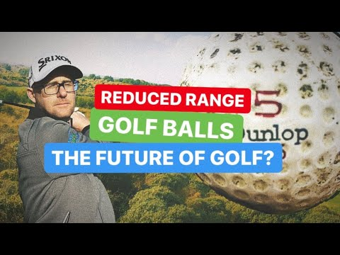 REDUCED RANGE GOLF BALLS IS THIS THE FUTURE