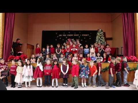 Sacred Heart Preschool Christmas Program