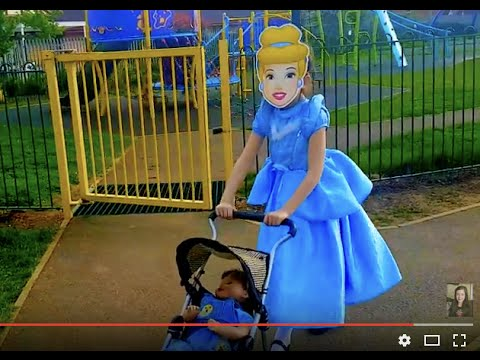 Princess With Stroller Baby Doll For Kids Youtube