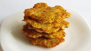 Драники с Курицей кулинарный видео рецепт