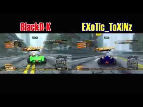 Burnout Paradise Tran-sports 34.57 Split Screen W/ EXoTic_ToXiNz
