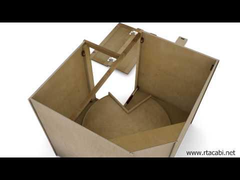 Lazy Susan Corner Kitchen Cabinet Assembly - RTA Cabinets Unlimited