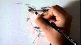 Ashley Olsen Speed drawing