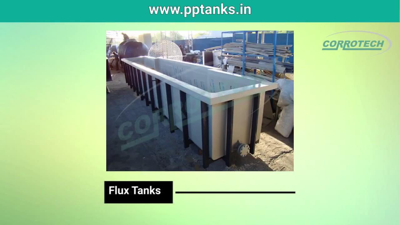 PP Tanks - Polypropylene Tanks, Pickling Tanks