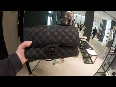 Chanel So Black & Louis Vuitton SUPREME Overload (Chanel M/L & Jumbo crumpled calf & black metal)