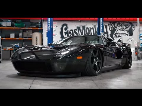 Gas Monkey In  Gas Monkeys Ford Gt Gmgt Blasts Down Country Road