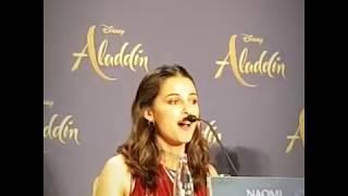 ALADDIN - Will Smith, Mena Massoud, Naomi Scott, Guy Ritchie & Alan Menken