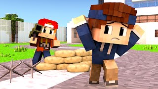 Minecraft - WHO'S YOUR DADDY?   BABY SPRENGT HAUS!