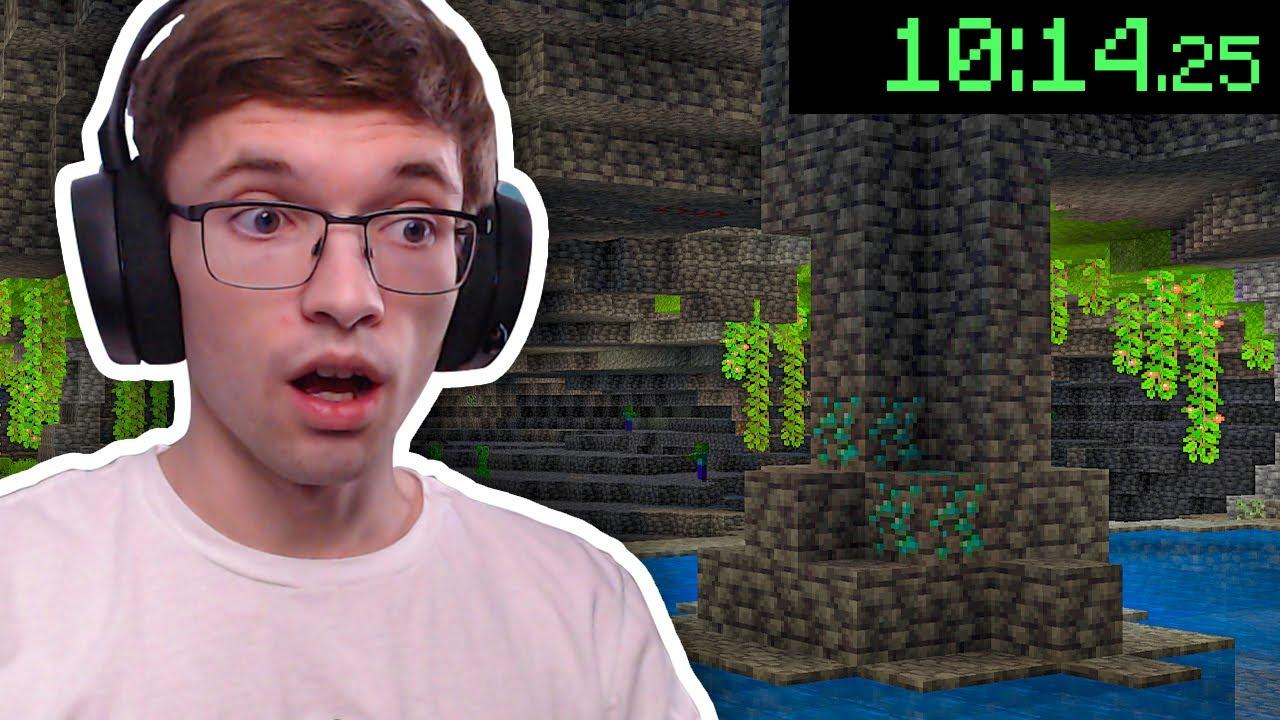 Speedrunning the 1.18 Experimental Minecraft Snapshot