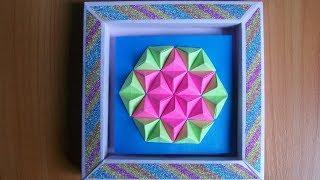 Вы Действительно Сделаете Много Украшений Из Бумаги по Этому Видео  Оригами Поделки Своими Руками