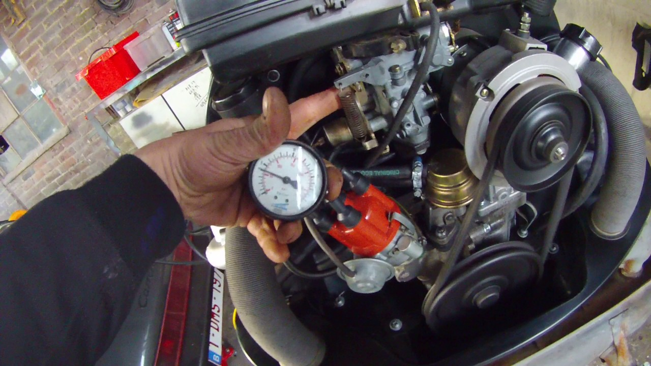 First start VW bug engine 1600cc complete rebuild. - YouTube