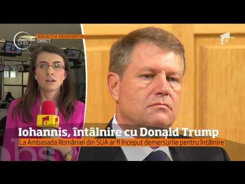 Președintele Klaus Iohannis, întâlnire cu Donald Trump