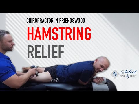 Hamstring Treatment and Adjustment - Chiropractor Friendswood