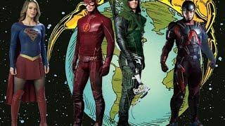 CW Arrowverse Super Freunde Fan-Musik-Video