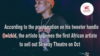 The US State of Minnesota Declares October 6th As WIZKID DAY.