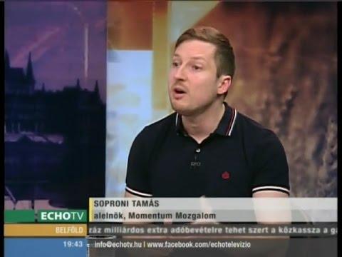 Betört az Origóhoz a Momentum elnöke - Echo Tv