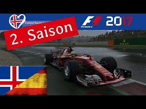 F1 2017 - Iceland-Racing-Group - Liga - 4. Rennen - Island/ Spanien