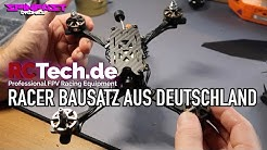 FPV-Drohne bauen mit Teilen aus Deutschland : RCTech sei Dank!