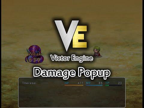 Damage Popup | Victor Engine