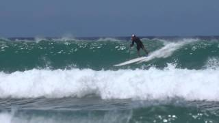 Paddleboard Surfing with Mike Simpson