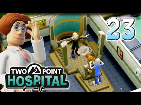 Manageable Magnetism? – Let's Play Two Point Hospital – Part 23