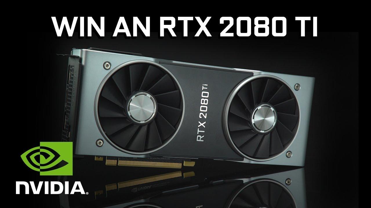 Win a FREE GeForce RTX 2080 Ti - Gamescom Giveaway!
